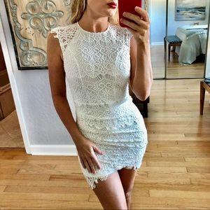 Xenia Boutique White Mini Dress